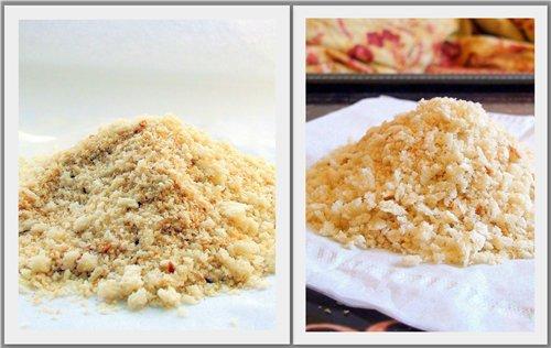 Как сделать из батона панировочные сухари